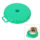 XinHe 1003 Multi-Functional Mobile Chassis Tray w/ Wheels - Green