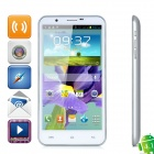 "SIV Android 4.1 Smartphone w/ 5.7"" Capacitive + Dual SIM + Dual Cameras + Wi-Fi - White + Silver"