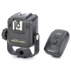 Nice PR-02A Universal Dual Hot Shoe 4-Channel Wireless Flash Trigger Set for Speedlite - Black