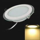 12W 980lm 3200K Warm White Light Round Shaped Ceiling Lamp w/ LED Power Supply (110~240V)