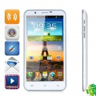 "SIV Android 4.1 Smartphone w/ 5.7"" Capacitive + Dual SIM + Dual Cameras + Wi-Fi + GPS + 3G - White"