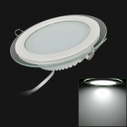 12W 1300lm 6200K White Light Round Shaped Ceiling Lamp w/ LED Power Supply (110~240V)