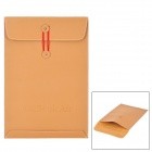 "Protective PU Leather Case Bag for 11.6"" Laptop / File - Brown"