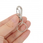 Zinc Alloy Keychain Rings Set - Silver (5 PCS)
