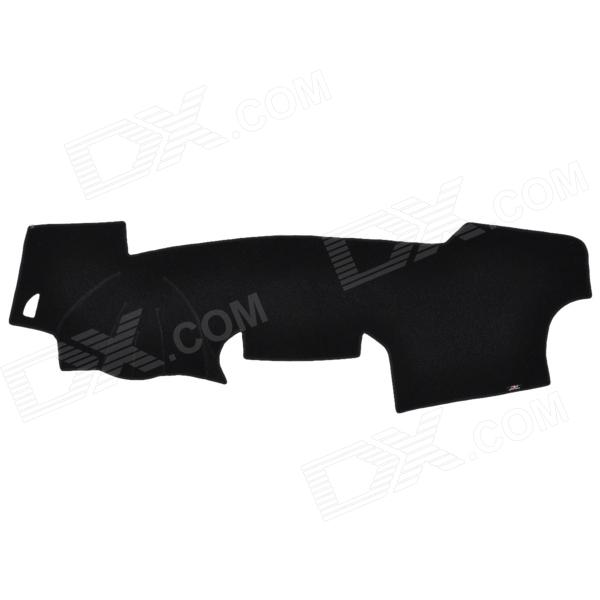 ST Car Dashboard Heat Light Insulation Polyester Pad for Toyota RAV4 - Black