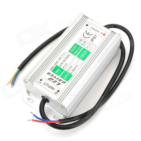 Water Resistant 100W External LED Power Supply Driver - Silver (85~265V)