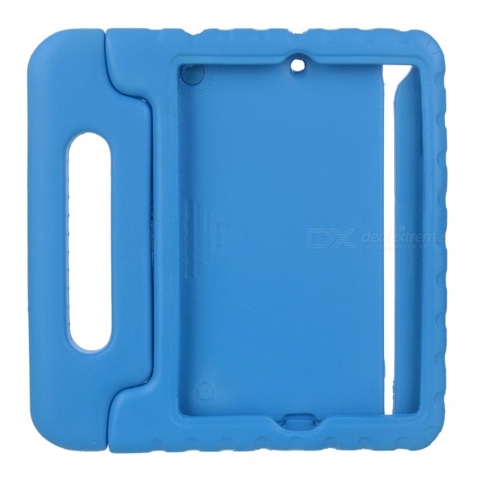 Protective Shock Absorption Handheld Plastic Case for Ipad MINI - Blue