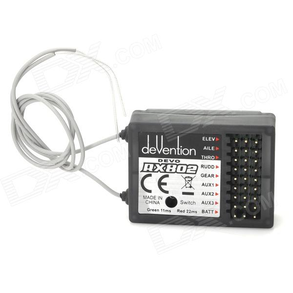 Walkera RX802 2.4GH 8-CH Standard Receiver for Transmitter Devo 6 / 6S / 7 / 8 / 8S / 12 / 12S