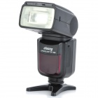 ONOONG SP-595 6W 5600K Single Contact Flashlight Speedlite for Canon / Nikon + More - Black (4 x AA)