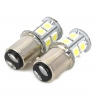 115750-13W 1157 2.3W 250lm 13-SMD 5050 LED White Car Steering / Brake / Tail / Backup Lights