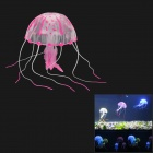 E5YK Emulation Big Jellyfish for Aquarium - Purplish Red