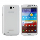 BASEUS Protective PC Case w/ Screen Protector / Stylus for Samsung N7100 / N7180 - White