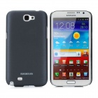 BASEUS Protective PC Case w/ Screen Protector / Stylus for Samsung N7100 / N7108 - Black