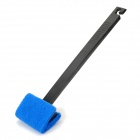 ALEAS L-46 Plastic Fish Tank Brush - Black + Blue