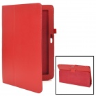 "Protective PU Leather Case for Samsung XE500T1C-A01 11.6"" - Red"