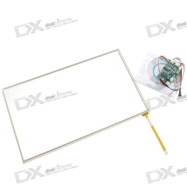 "Touch Screen Digitizer with Bluetooth Connectivity DIY Mod Kit for Asus 10"" Eee PC 1000 UMPC Laptops"