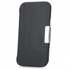 Protective PU Leather Stand Case for Samsung i9260 - Black