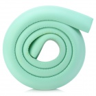 Baby Kid Soft PE Foam Table Edge Corner Safety Guard Strip w/ Adhesive Tape - Light Green (1m)