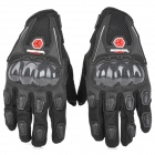 Scoyco MC09 Motorcycle Racing Full-Finger Gloves - Black (Size M)