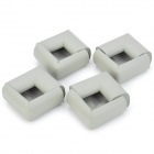 Buy Baby Kid Soft EVA Foam Table Edge Corner Safety Guard Cushion Adhesive Tape - Light Grey (8 PCS)