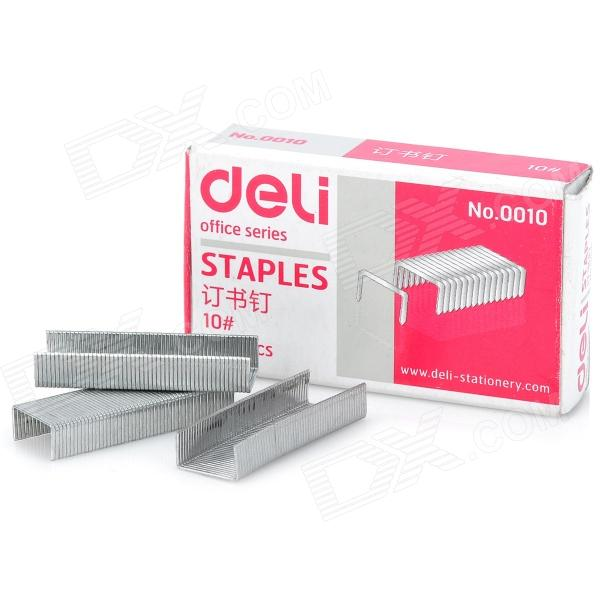 Universal Small Size Steel Staples for 10# Stapler - Silver (10 Strips)
