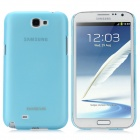 BASEUS Protective PC Case w / Screen Protector / Stylus für Samsung Galaxy Note N7100 / N7108 - Blue