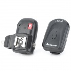 Nice PT-04N2 4-Ch Radio Remote Wireless Hot Shoe Speedlite Flash Trigger Set for Nikon - Black