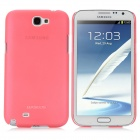 BASEUS Protective PC Case w / Screen Protector / Stylus für Samsung N7100 / N7108 - Watermelon Red