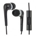LC.CCY 3.5mm Plug Mini In-Ear Wired Earphones for Iphone 5 - Black (120cm)