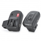 Nice PT-04S1 4-Ch Radio Remote Wireless Hot Shoe Speedlite Flash Trigger Set for Sony Camera - Black