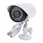 TV-CS4010 CMOS 420TVL Surveillance Security Camera w/ 22-LED Night Vision - White (PAL)