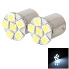 1156 1.5W 80lm 6-SMD 5050 LED White Car Brake / Steering / Backup Lights