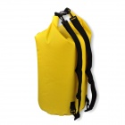 Naturehike-NH FSD-50L Outdoor Sports Oxford Cloth Waterproof Dry Shoulders Bag - Yellow (50L)