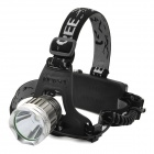 K12 Cree XM-L T6 600lm 3-Mode Neutral White Light Headlamp - Grey + Silver