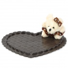 Cute Cartoon Bär Anti-Rutsch-Car Mat - Brown + Beige
