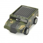 Baiyuan 6689 Solar Car Modell Spielzeug - Camouflage Green + Black + White