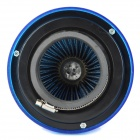 Super Power Flow ABS Air Filter - Translucent Blue + Silver