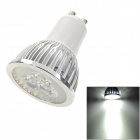 GU10 3W LED Spotlight 270lm 6500K Cold White Bulb (85~265V)