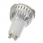 GU10 3W 270lm 6500K LED White Light Spotlight (85~265V)