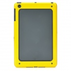 Protective ABS + Silicone Bumper Case for Ipad MINI - Yellow + Black