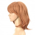 Fashion 2029E Long Curly Hair Wigs - Blonde