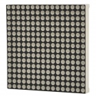 HQ16*16R 16 x 16 Red LED Display Common Anode Dot Matrix Module - Black + White