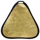 Folding Dual Side Flash Reflector Board - Golden + Silver (80cm)