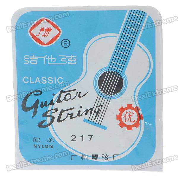 Kapok 217 Classical Guitar Strings Set savarez 510 cantiga series alliance cantiga ht classical guitar strings full set 510aj