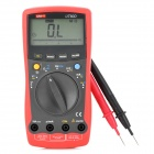 "UNI-T UT60D 2,7 ""LCD Digital Multimeter - Red + Deep Grey (1 x 9V 6F22)"