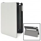Buy Protective PU Leather + Plastic Flip-Open Handheld Case Stand Ipad MINI - Black White