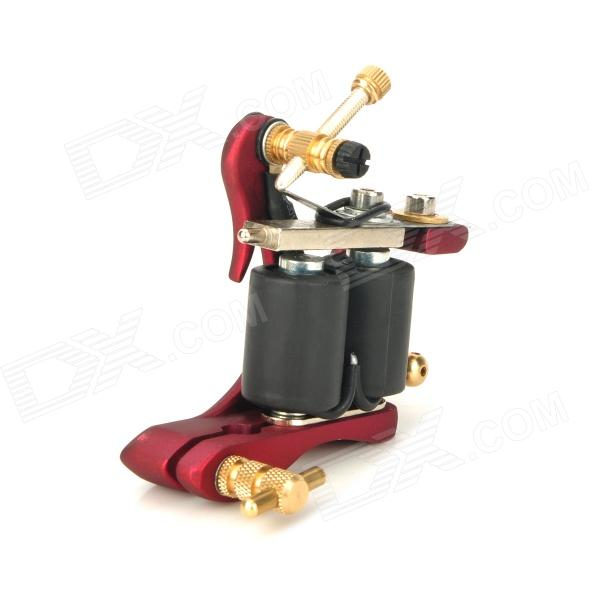 HM75 Tattoo Machine Gun Kit Shader Liner - Red + Black