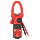 "UNI-T UT208 2.3"" LCD Clamp Digital Multimeter - Red + Dark Grey (1 x 9V 6F22)"