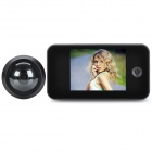 "3.5"" TFT 1/3"" CMOS 0.3MP Peephole Viewer - Black"