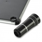 10X Optical Zoom Lens Wide Angle Telescope + Protective Matte Case for Ipad MINI - Black